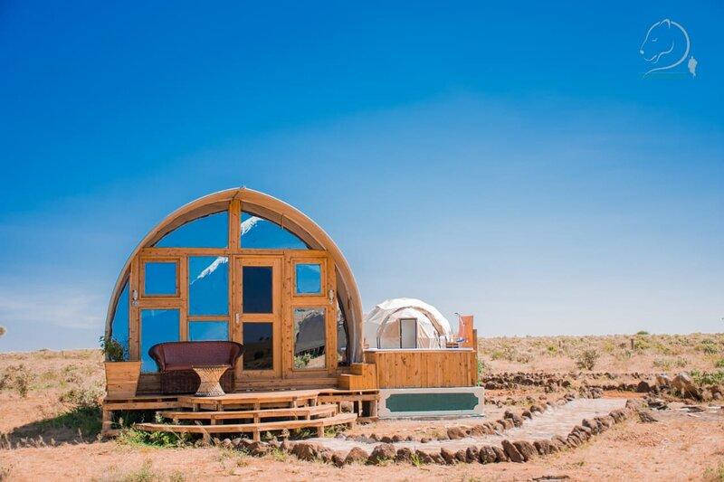 Amanya Camp1-Bed Wigwam in Amboseli National Park, vacation rental in Kimana