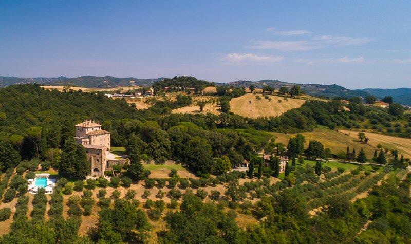 Luxury villa I Palazzi, alquiler vacacional en Civitella d'Arno