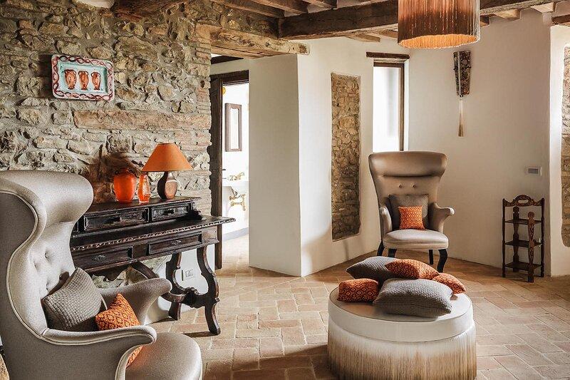 Luxury villa La Santa, casa vacanza a Monte Santa Maria Tiberina