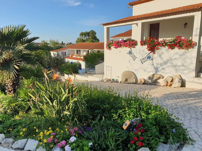 Home Office Living, Farm, South Lisbon, with huge biological pool, close beach, vacation rental in Corroios