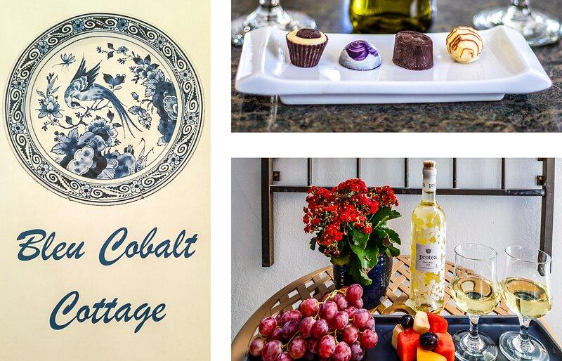 Bleu Cobalt Cottage, holiday rental in Franschhoek