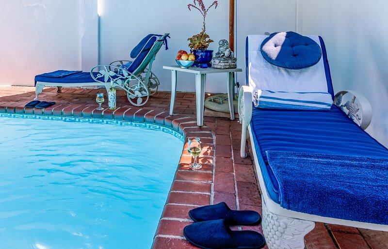 Bleu Cobalt Cottage, location de vacances à Franschhoek