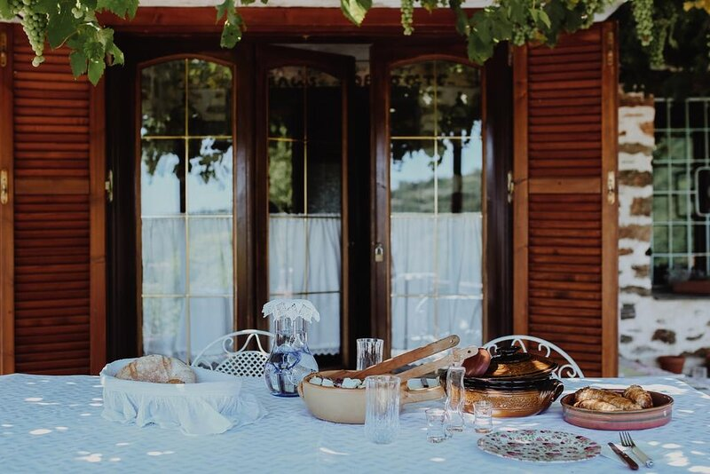 Pelion Hidden Retreat- The traditional experience, location de vacances à Agria