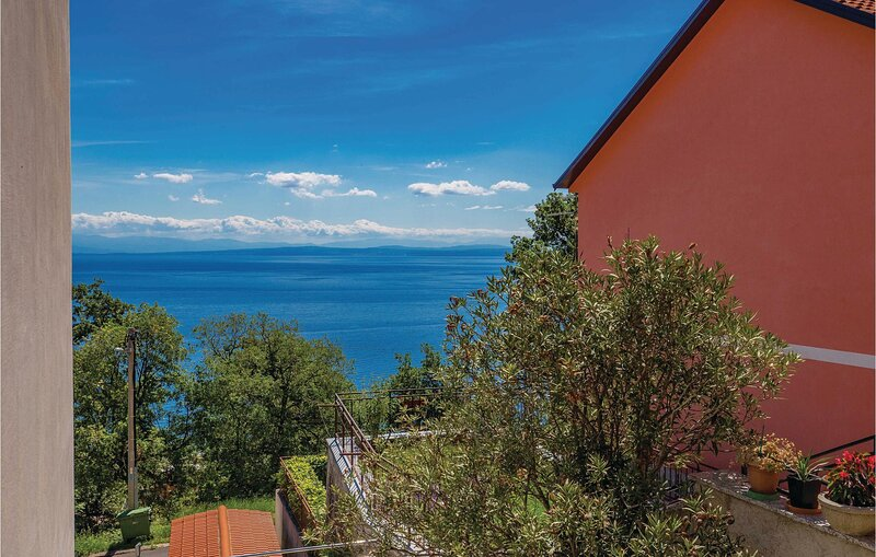 Stunning home in Moscenicka Draga with WiFi and 1 Bedrooms (CKO618), vacation rental in Moscenice