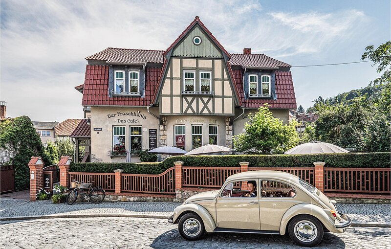 Nice apartment in Quedlinburg OT Gernrod with WiFi and 2 Bedrooms (DAN230), holiday rental in Harzgerode