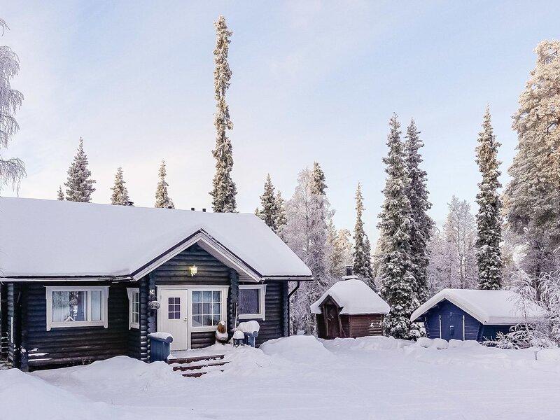 Isopyhänmaa, casa vacanza a Salla
