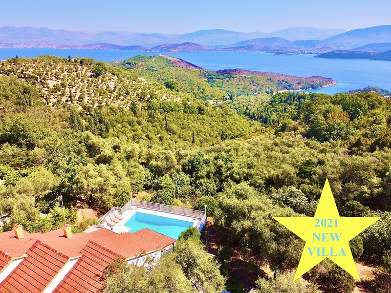 Villa Marialetta St. Stephanos with private pool, holiday rental in Agios Stefanos