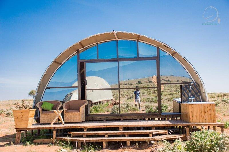 Amanya Camp 1-Bed Wigwam in Amboseli, vacation rental in Kimana