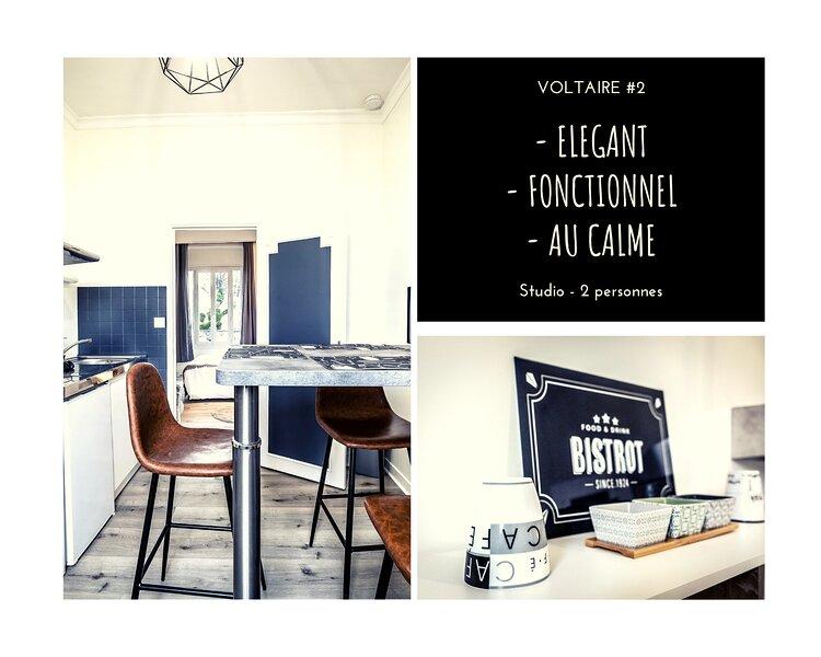VOLTAIRE #2 - Studio délicat - 1 chambre – semesterbostad i Donzenac
