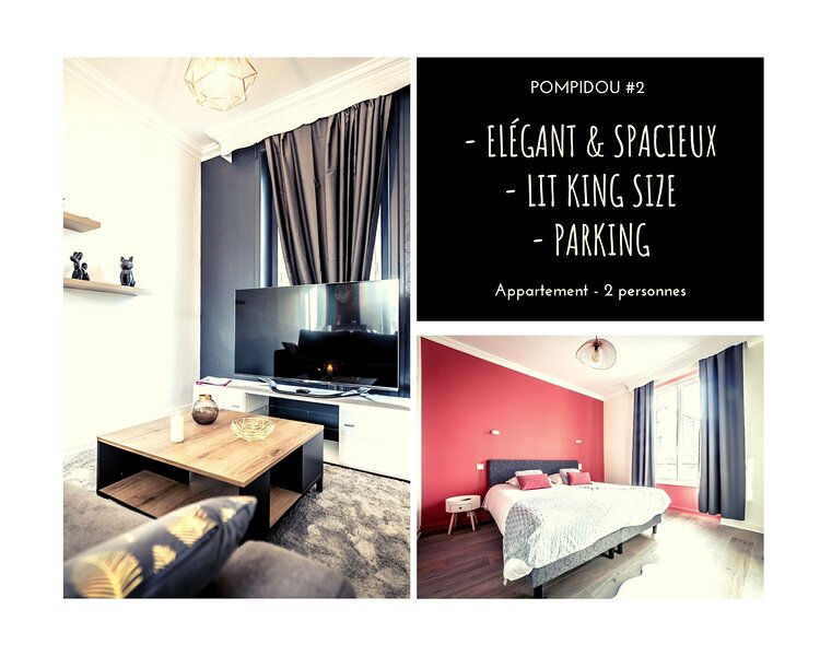 POMPIDOU #2 - Chic & Elégant - 1 chambre – semesterbostad i Donzenac