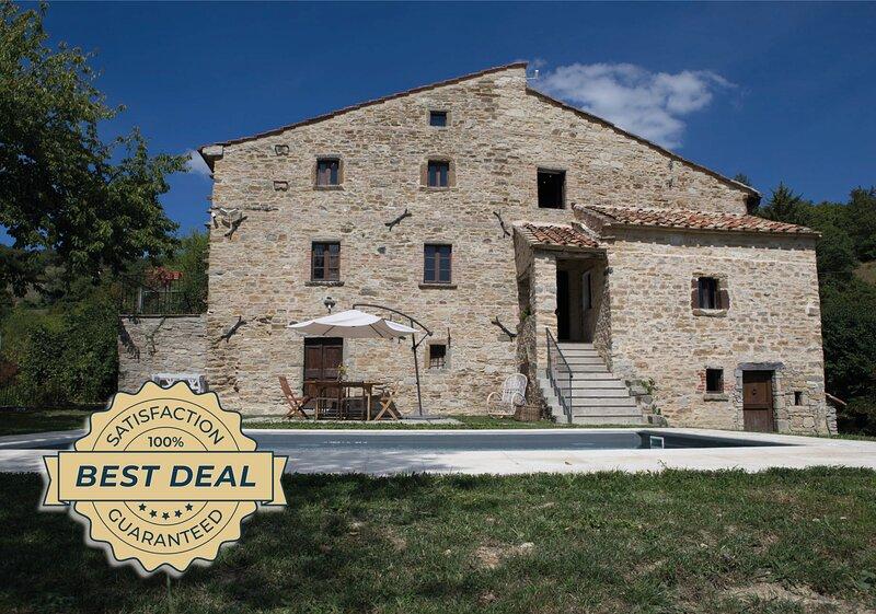Villa il Buongiorno, vacation rental in Caprese Michelangelo