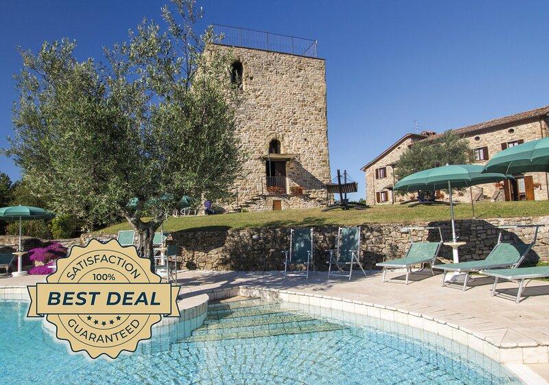 Villa Storie di Borgo, casa vacanza a Monte Santa Maria Tiberina
