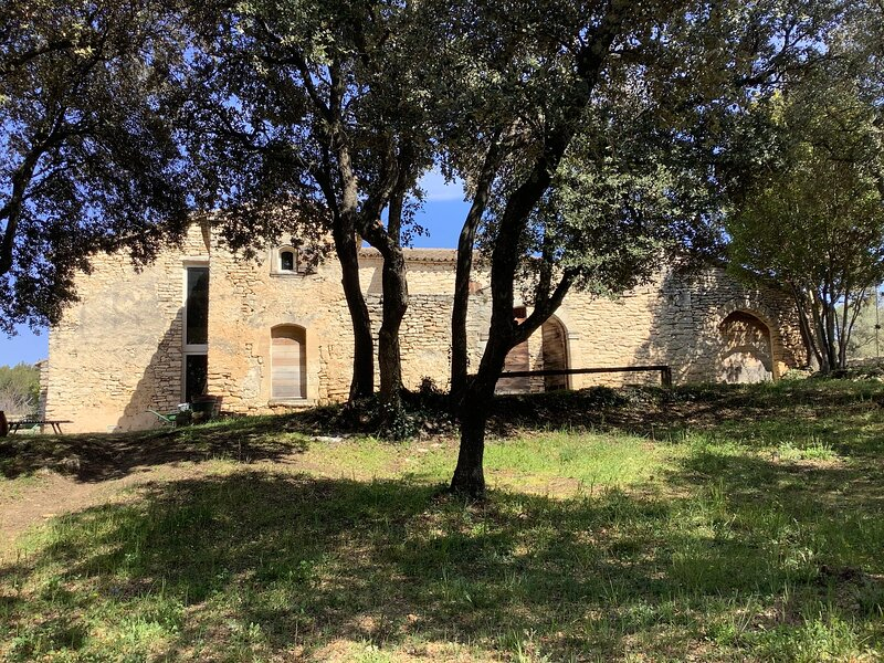 Spacious house with mountain view, holiday rental in Menerbes