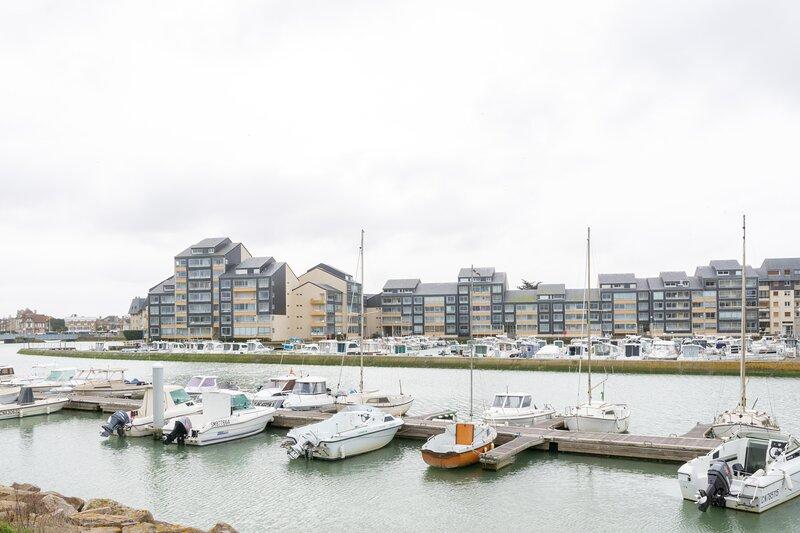 Le Greement - Appartement vue mer Courseulles-sur-Mer, location de vacances à Ver-sur-Mer
