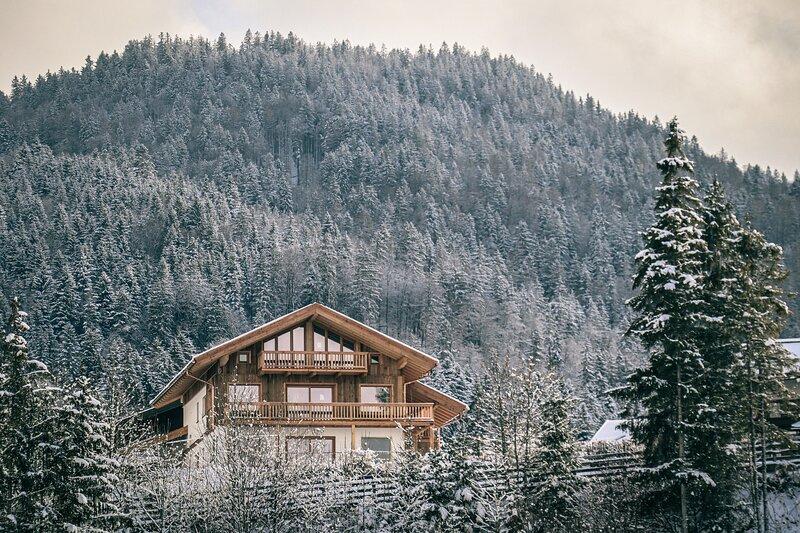 designchalets auf 685 - Bergstadl Premium Chalet im Chiemgau, casa vacanza a Reit im Winkl