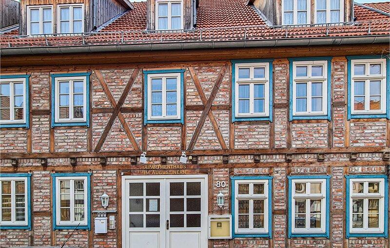 Awesome apartment in Quedlinburg with WiFi and 1 Bedrooms (DAN246), location de vacances à Halberstadt