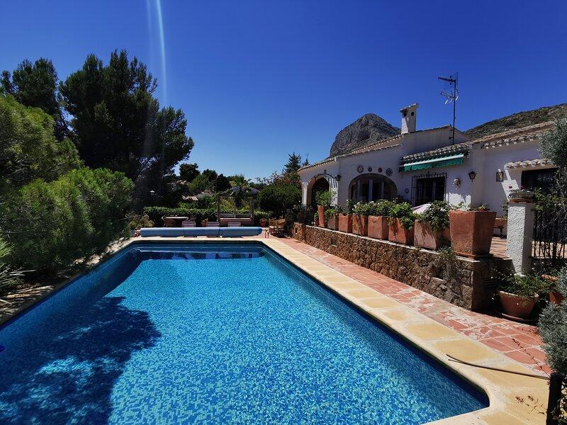 La Golondrina, holiday rental in Javea
