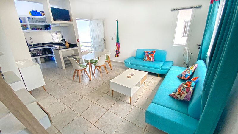Amazing apt ! Just 10 minutes from the beach PUERTO MORELOS MEXICO, holiday rental in Joaquín Zetina Gasca