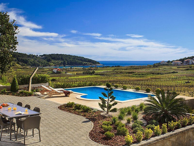 Beautiful Villa Mar, on the Island of Korcula, location de vacances à Lumbarda