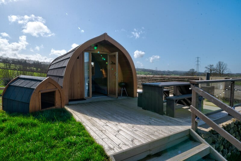 Pheasant Field Pod, holiday rental in Dalton