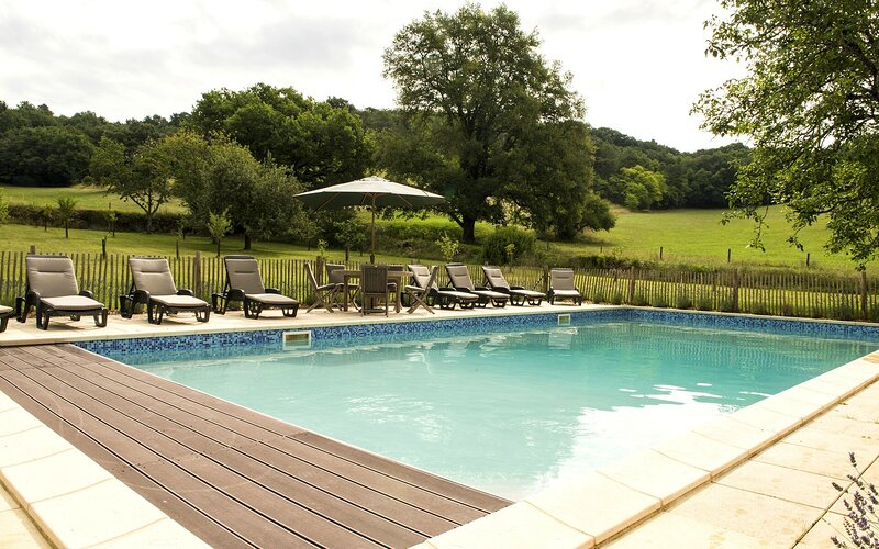 Amazing house with shared pool, holiday rental in La Bachellerie