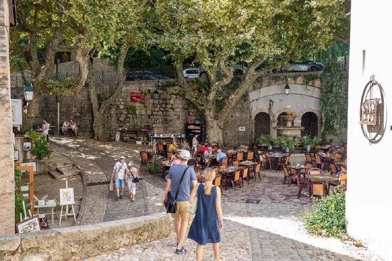 A beautiful  Provençal villa at a unique location in the village of Seillans., Ferienwohnung in Seillans