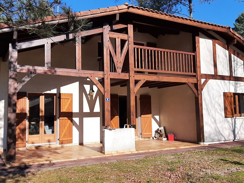 Belitre maison landaise avec jardin, holiday rental in Saubion