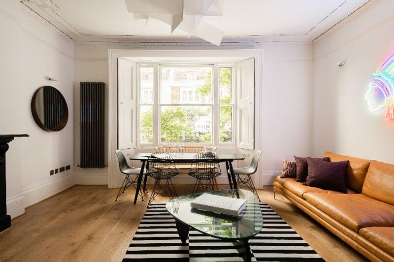 The Lansdowne Garden - Bright & Modern 3BDR Apartment with Garden, Ferienwohnung in Willesden
