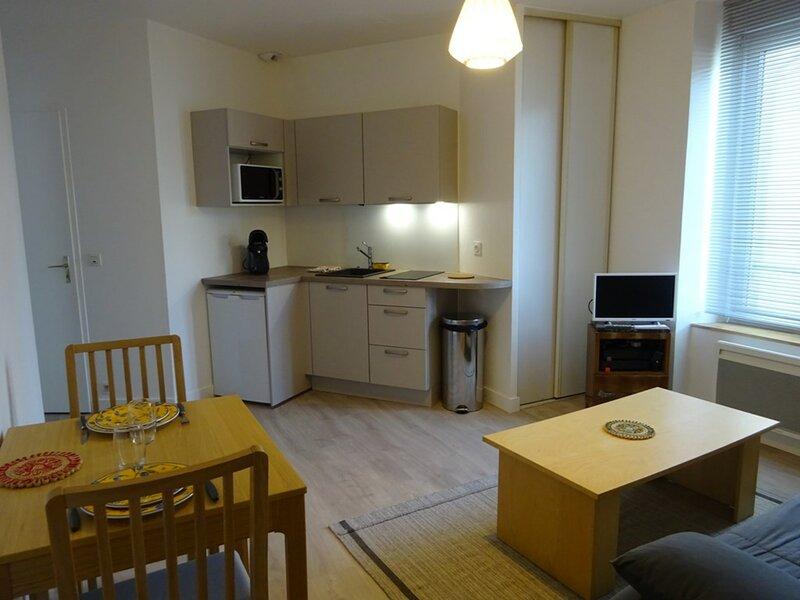 Appartement 3 personnes centre ville Vannes, location de vacances à Monterblanc