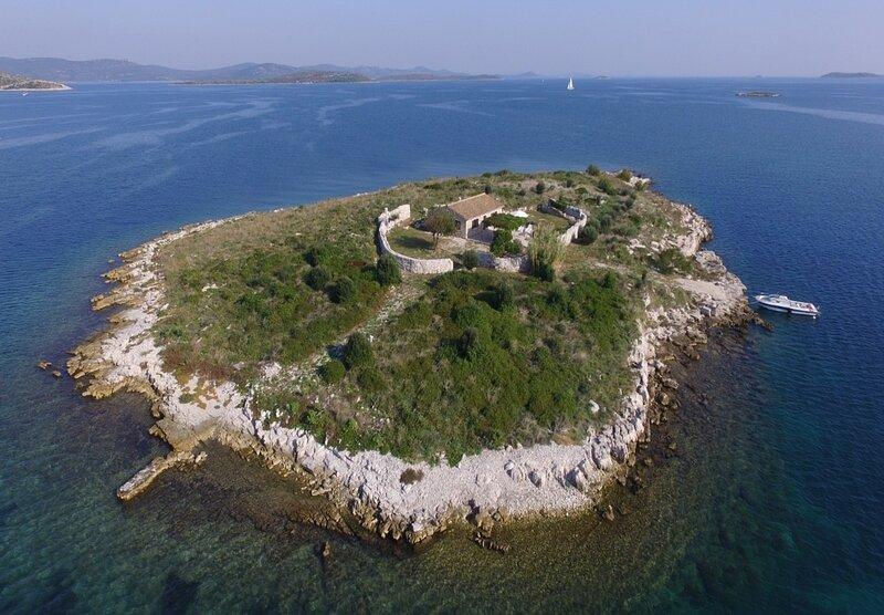 Mari - whole island for you: H(4+1) - Island Kornat - Croatia, casa vacanza a Kornat Island