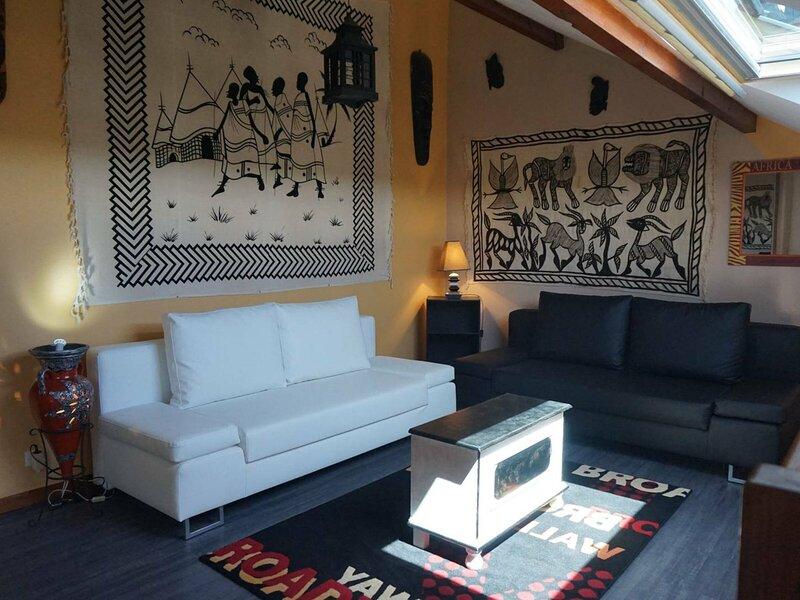 Appartement en duplex exposé Sud pour 4 personnes, casa vacanza a Merville-Franceville-Plage