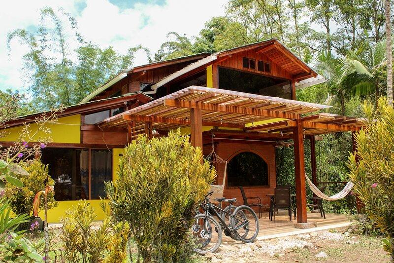 Chakrana Cotagge. Entre Ríos y Naturaleza, alquiler de vacaciones en Mindo