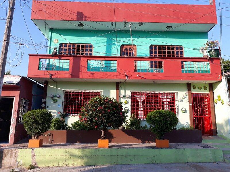 Casa Chable Ambiente Familiar Y Centrico Hab 1, holiday rental in Palenque