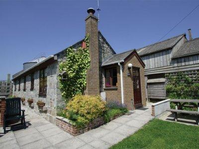 'Tredinnick Byre', Summercourt, nr Newquay, Cornwall, alquiler vacacional en Mitchell