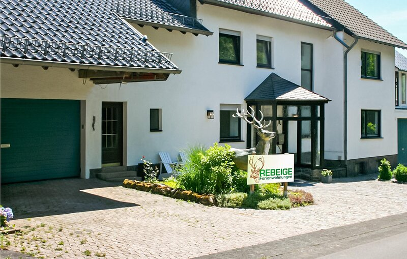 Awesome apartment in Kopp with WiFi and 1 Bedrooms (DEI173), holiday rental in Densborn