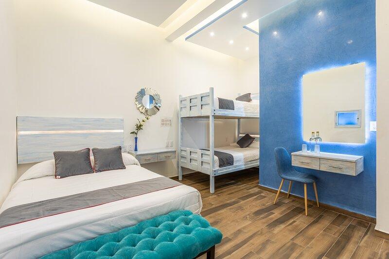 Habitación triple, alquiler de vacaciones en Zaachila