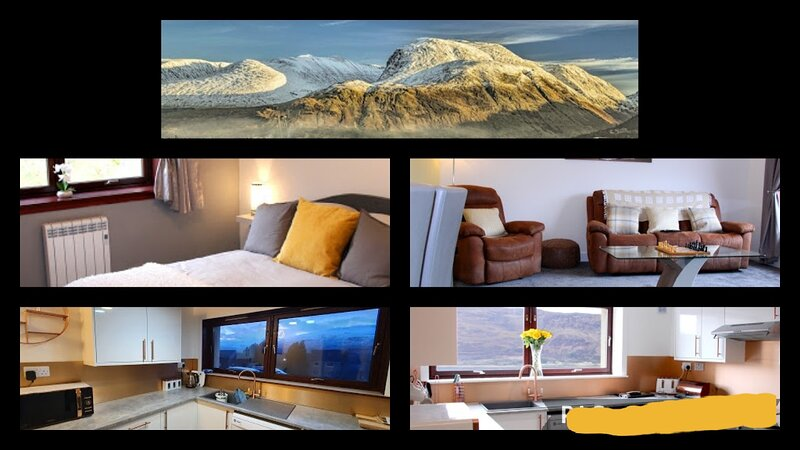Holiday apartment three bedrooms near town centre, holiday rental in Ballachulish