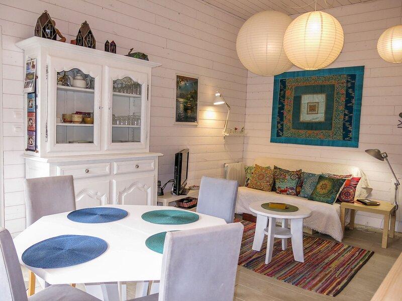 La petite maison blanche, location de vacances à Francueil