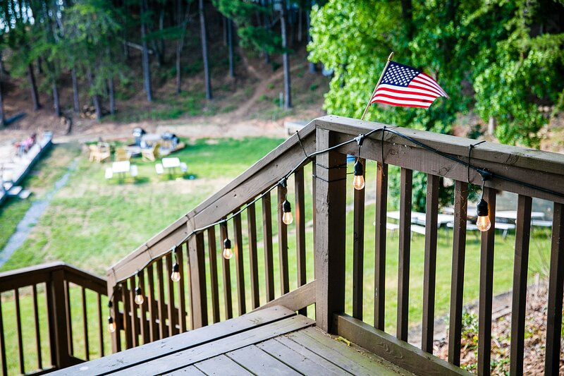 Waterfront Studio Cabin with Private Porch #13 at Long Cove Resort - Flexible, vacation rental in Belmont