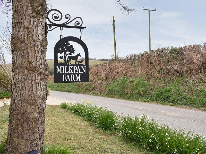 Milkpan Farm, Ferienwohnung in Godshill