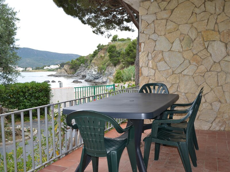 CAP RAS 2 Apartment in the sea front!, holiday rental in Colera