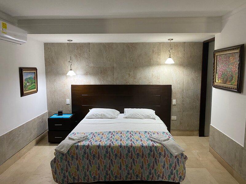 Apartaestudio tipo loft amoblado, muy bien ubicado en Barranquilla, alquiler vacacional en Barranquilla