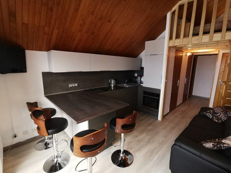 Très bel appartement rénové, casa vacanza a Ancelle