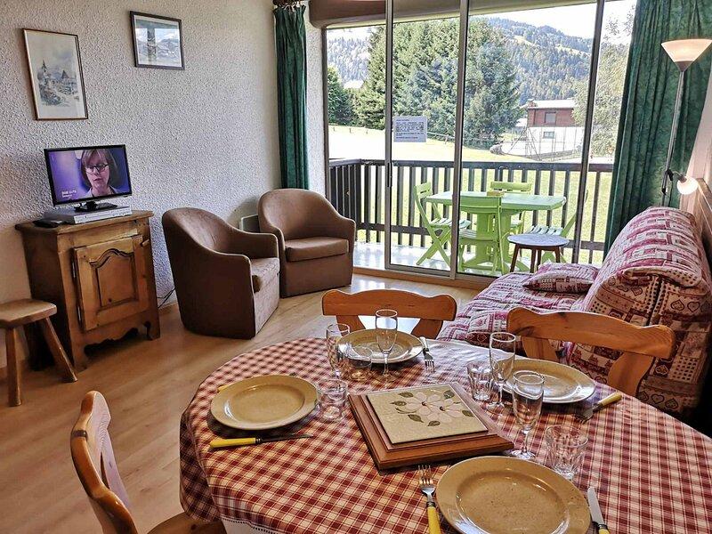 Location vacances pour 4 personnes, au pied des pistes, aluguéis de temporada em Saint-Nicolas-la-Chapelle