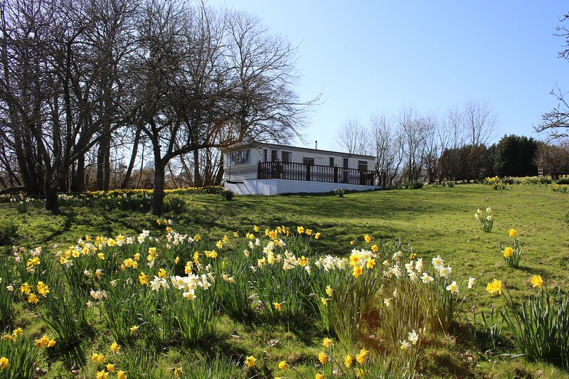 Kingfisher Mobile Home set in over 20+ acres of beautiful private countryside, vakantiewoning in Herstmonceux