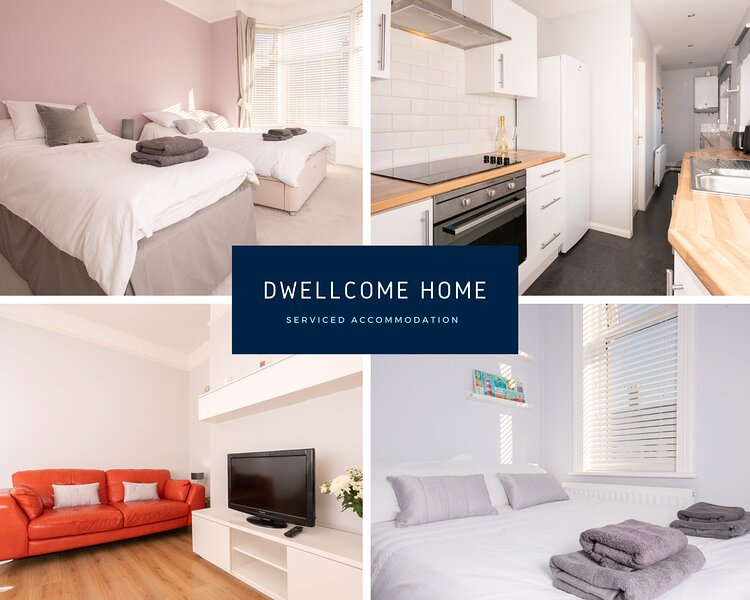Dwellcome Home Birchington 4 Bed Seaside Home FREE STREET PARKING 100Mbps B'band, location de vacances à Whitley Bay