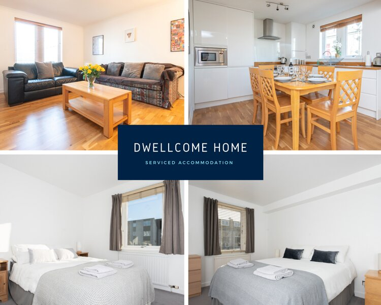 DWELLCOME HOME Claremont B 2 Bedroom Apart FREE PARKING 100Mbps FAST BROADBAND, Ferienwohnung in Aberdeen
