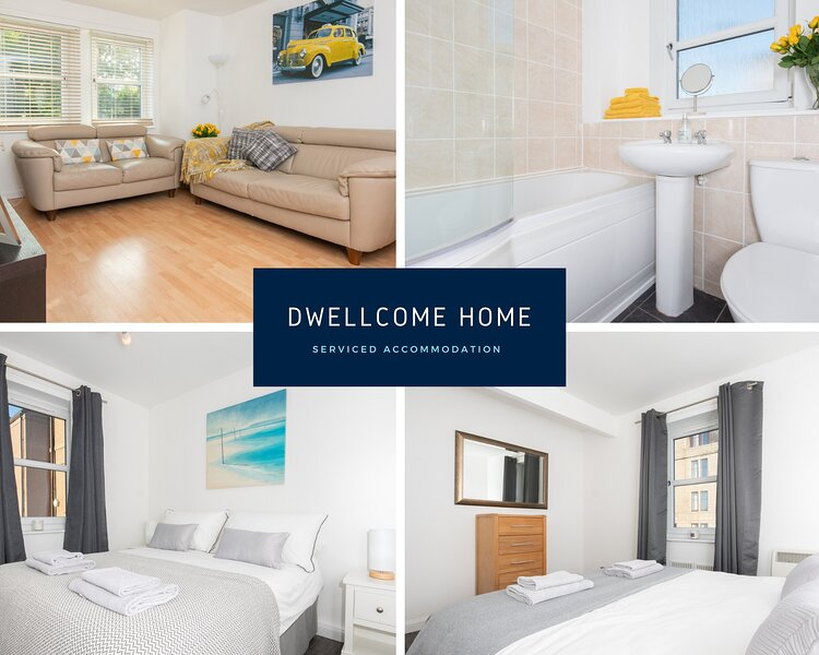 DWELLCOME HOME Nelson Court City Apartment FREE PARKING FAST BROADBAND, Ferienwohnung in Aberdeen