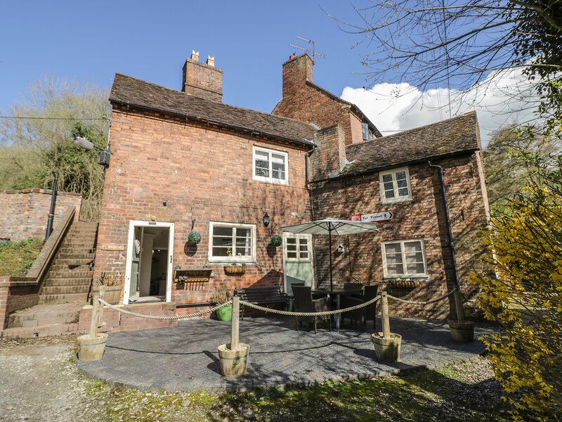 Canal Cottage, Coalport, holiday rental in Jackfield