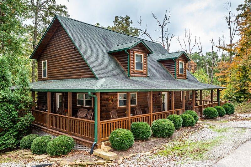 A Hidden Treasure Log Cabin, location de vacances à Nashville